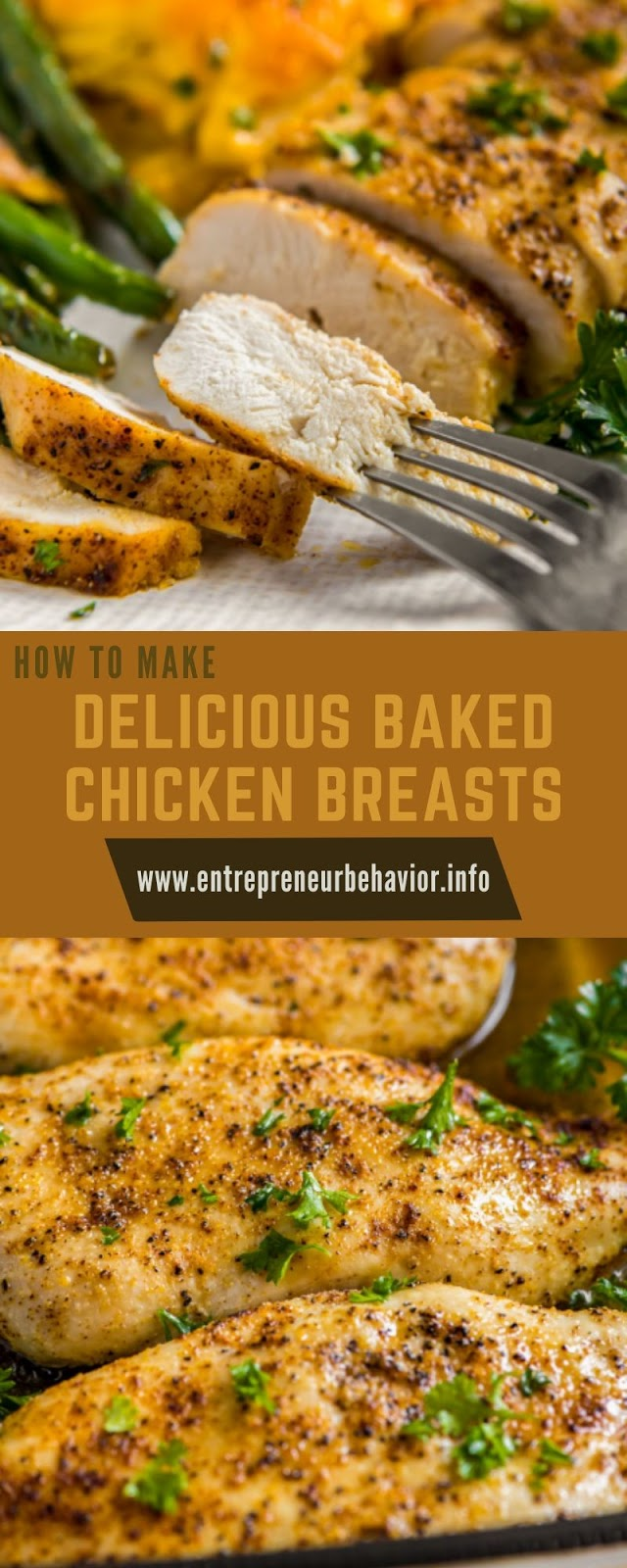 HOW TO MAKE DELICIOUS BAKED CHICKEN BREASTS