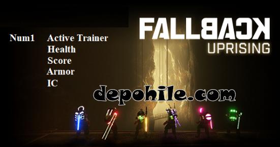 Fallback Uprising PC Oyunu Can, Skor +4 Trainer Hilesi İndir 2020
