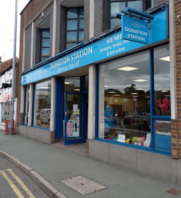 The former Blockbuster video store in Chester. September 2020