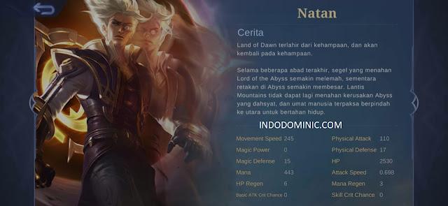 Build Natan Tersakit 2021: Item, Emblem, Spell Lengkap