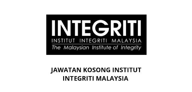 Jawatan Kosong Institut Integriti Malaysia 2021 (IIM)