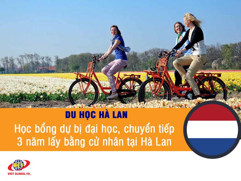 Du học Hà Lan: Học bổng dự bị đại học, chuyển tiếp 3 năm lấy bằng cử nhân