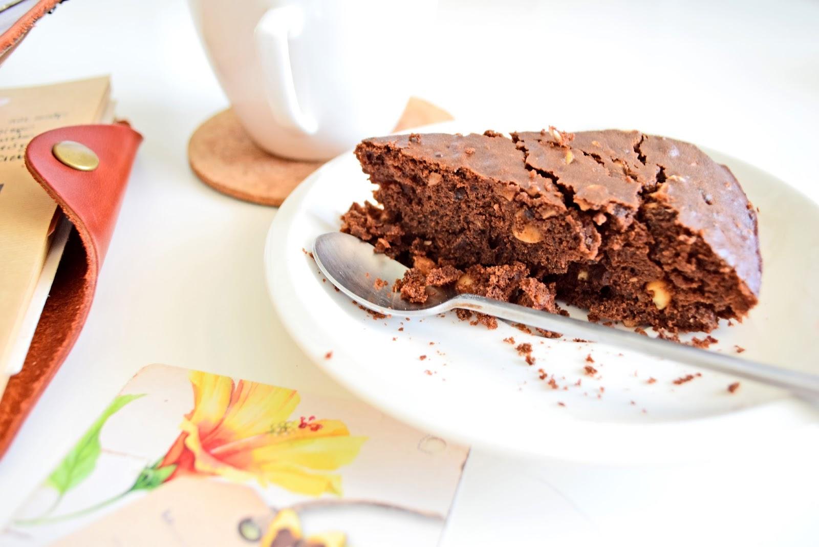 prosty przepis na wegańskie brownie