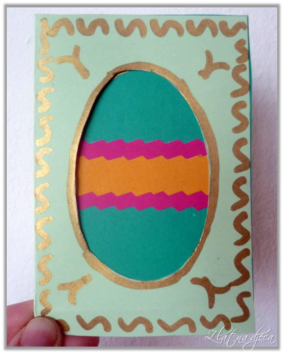 kako napraviti čestitke za uskrs Zlatna djeca: Uskrsna čestitka   jaje kako napraviti čestitke za uskrs