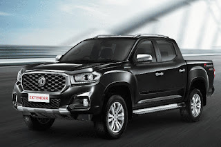 MG Extender Double Cab (2019) Front Side