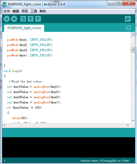 EasyEDA codigo arduino barra de leds.