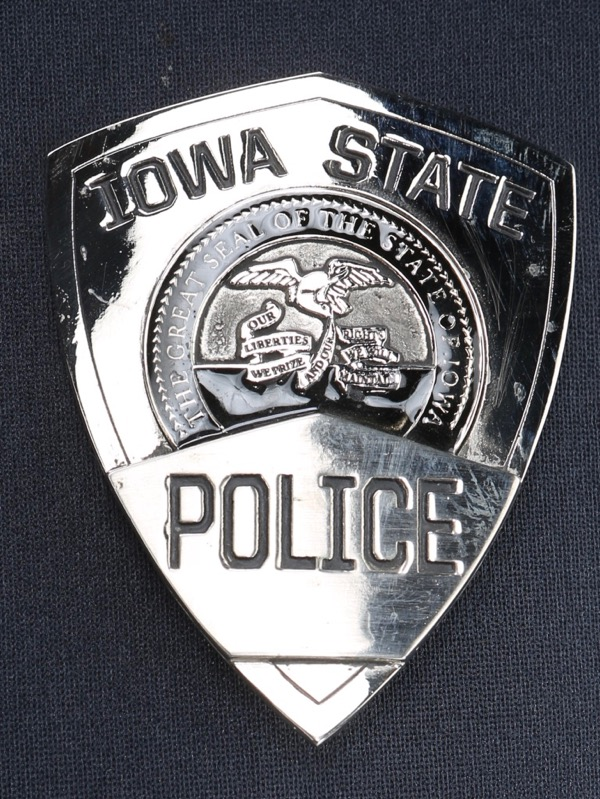 Star Trek Iowa police badge