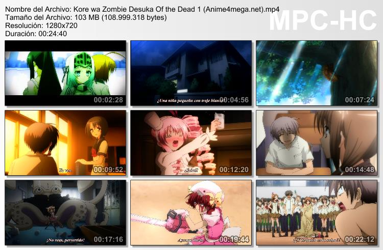 Kore wa Zombie Desu ka of the Dead capturas