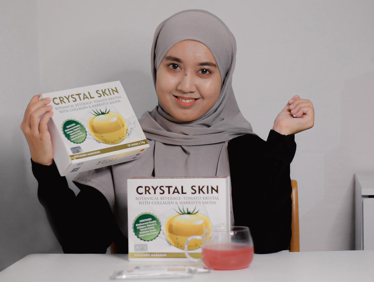 Crystal Skin Rish Beauty : Tomato Kristal dengan Collagen, Habbatus Sauda