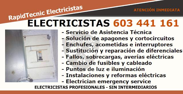 Reparamos electricista playa la torre castell n 603 441 161 - Electricistas en castellon ...