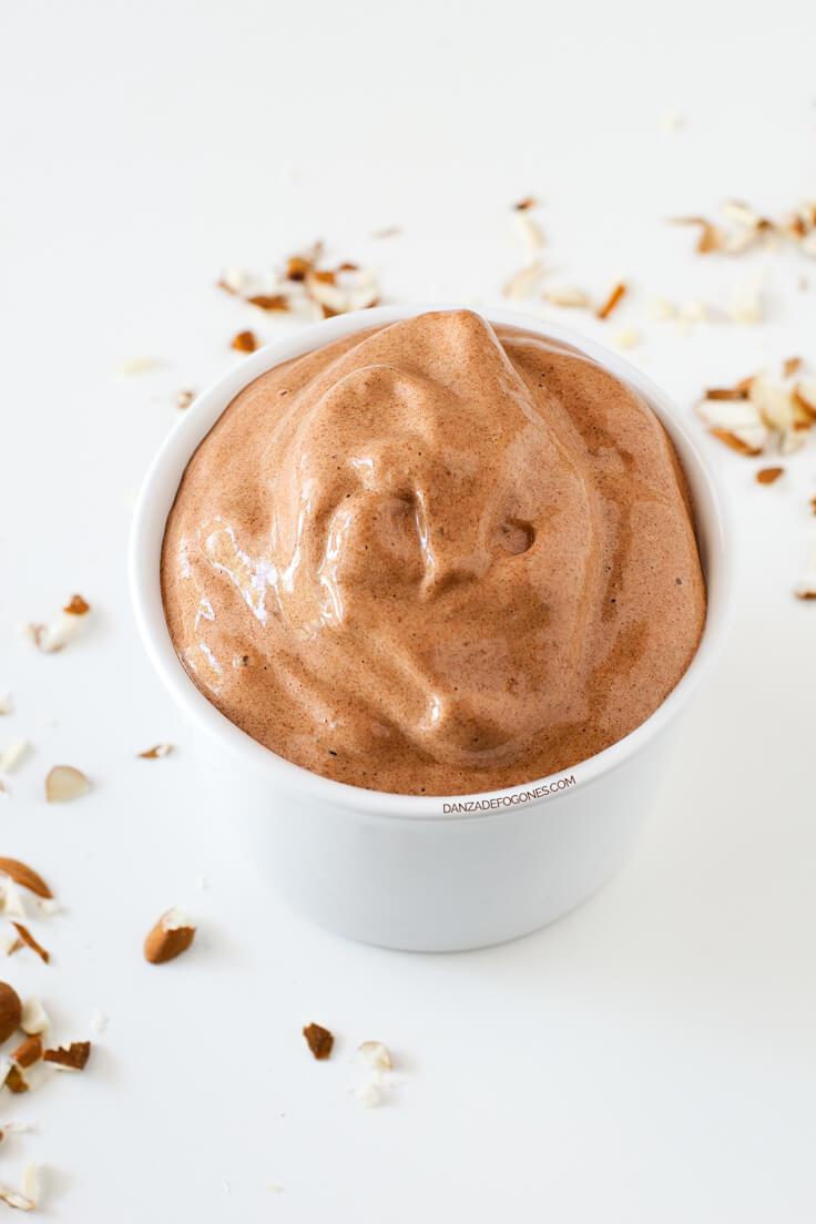 Chocolate and Banana Ice Cream (2 Ingredients)