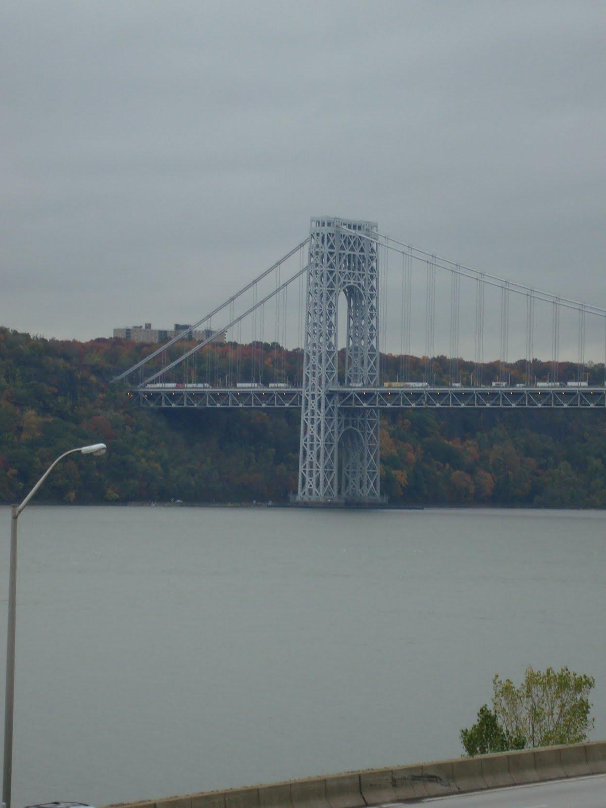View of the George Washington Bridge - Framed Photograph