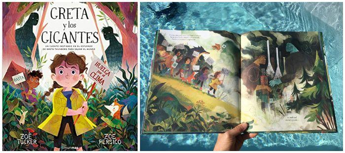 cuento infantil Greta y los gigantes consciencia medio ambiental