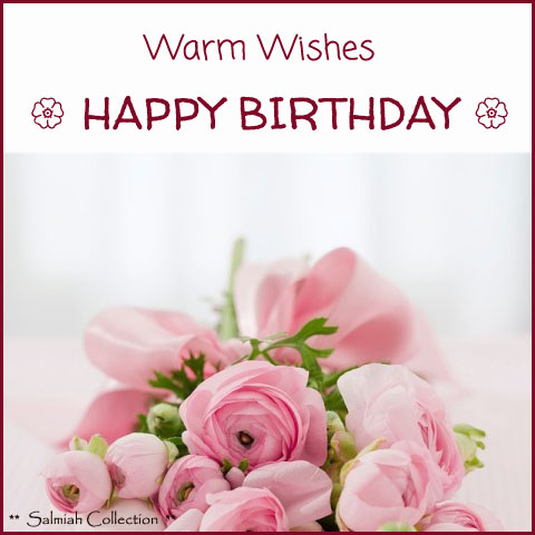 Warm Wishes Happy Birthday