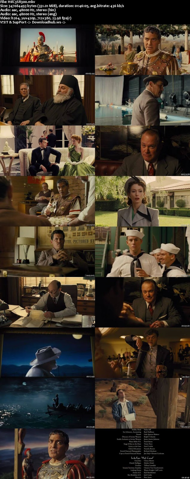 Hail, Caesar! 2016 Hindi Dual Audio 480p BluRay Free Download