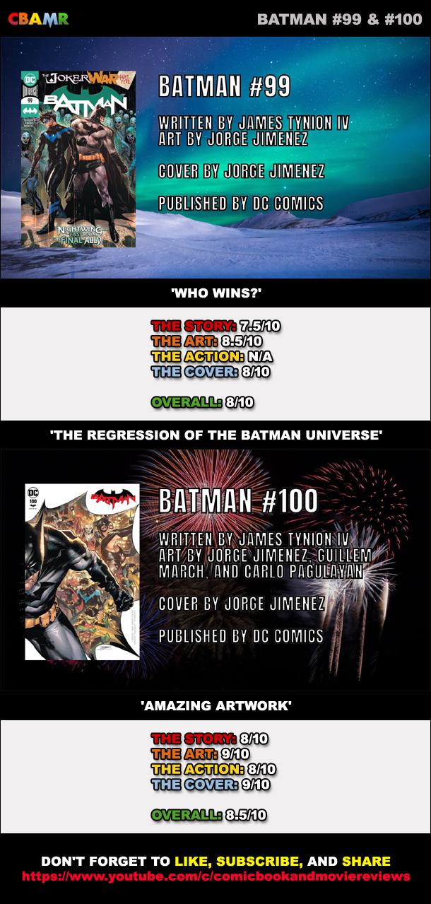 Batman 99 & 100