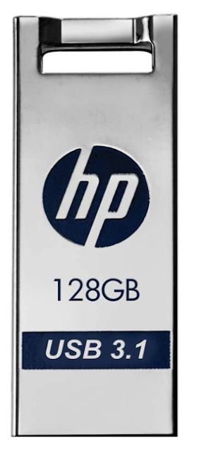 HP X795w USB3.0 128 GB Flash Drive (Silver)