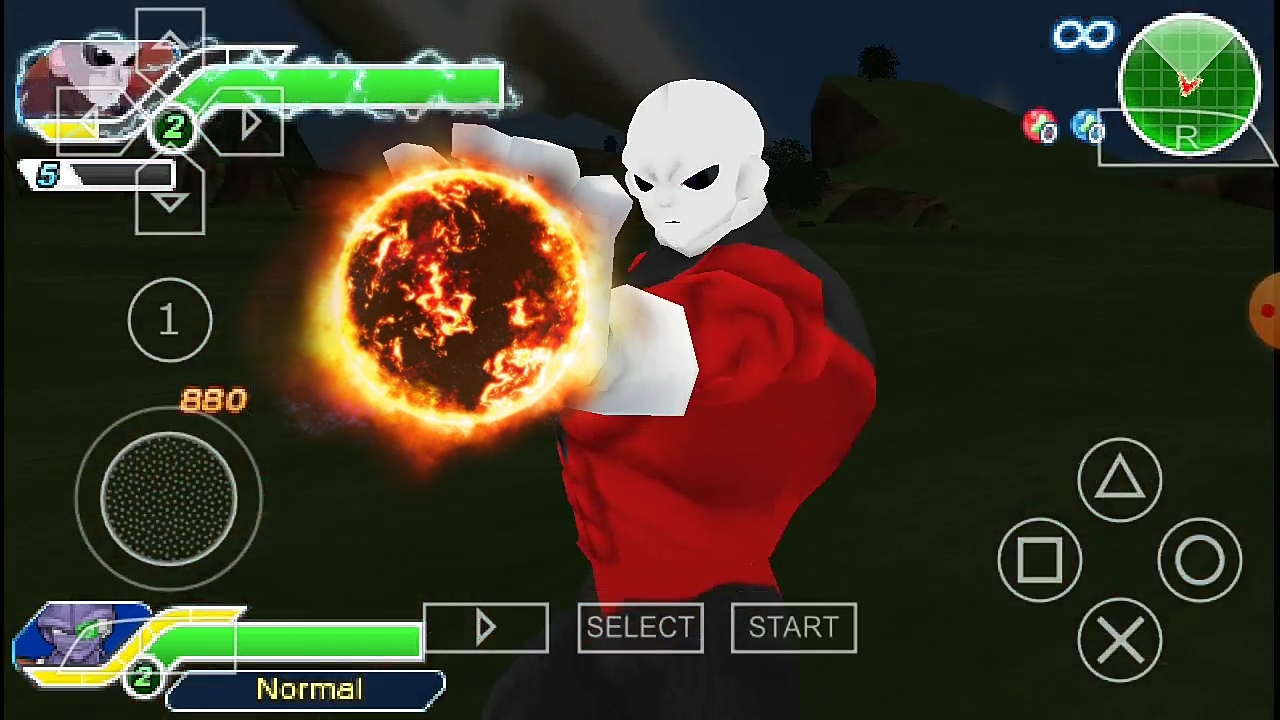 Dragon Ball Super Jiren Attacks