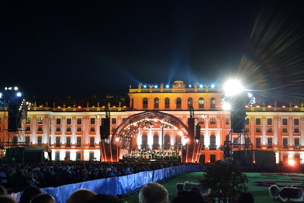 vienne schönbrunn concert nuit été orchestre philharmonique