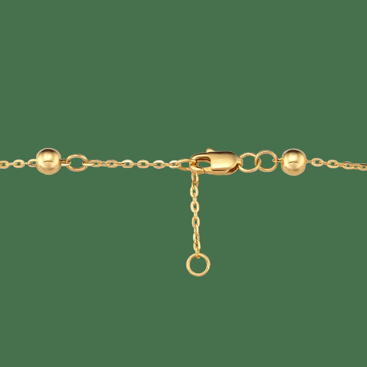 Lắc tay Vàng 14K đính ngọc trai Freshwater PNJ PF00Y000001