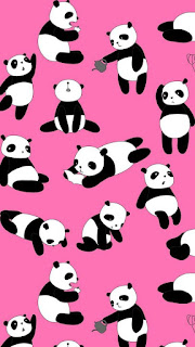 Download wallpaper wa kartun panda lucu