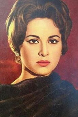 The life story of Faten Hamama, Egyptian actress, born on May 27, 1931 .