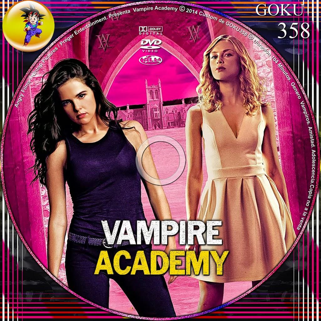 Vampire Academy Dvd Cover Vampire Academy: Blood...