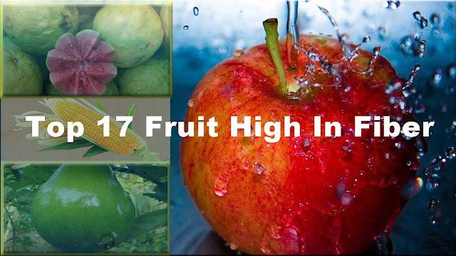 top fruit high in fiber