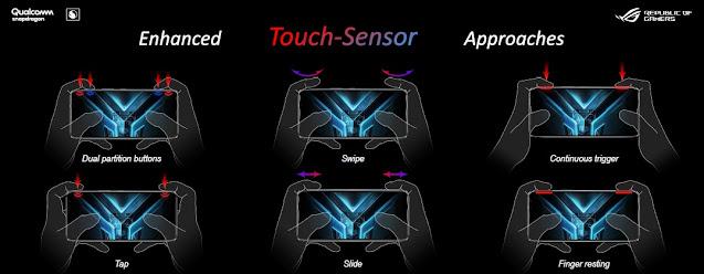 Fitur Air Trigger 3 ROG Phone 3