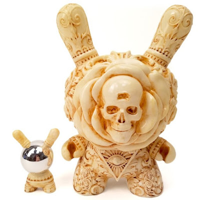 "The Clairvoyant Dunny 8"" Vinyl Figure by J*RYU x Kidrobot"