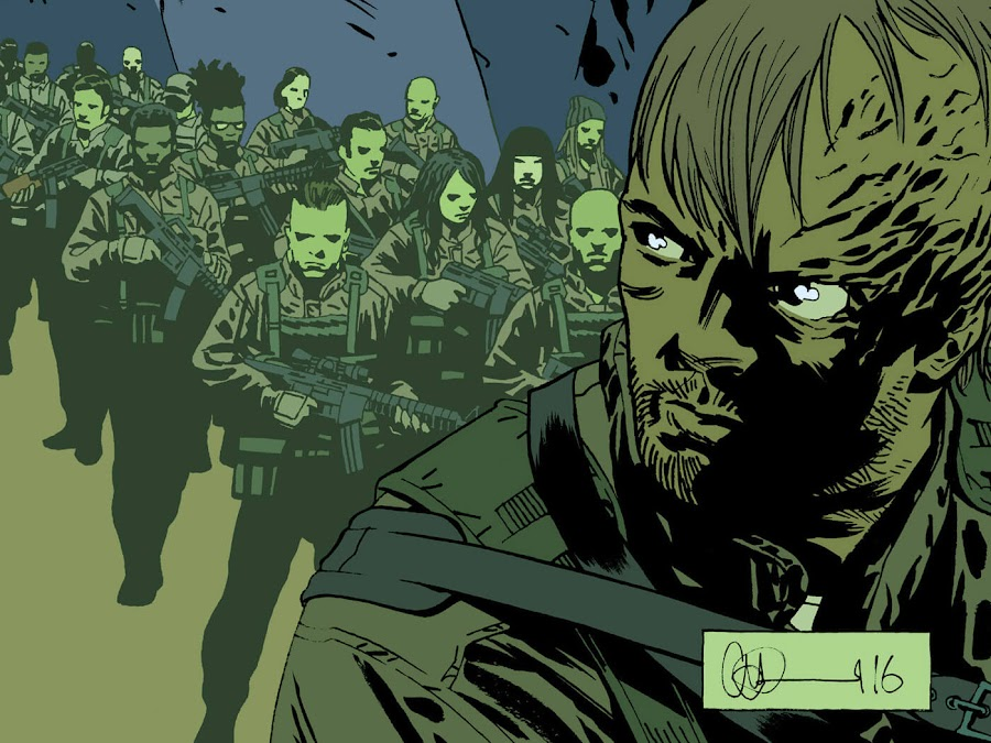 the walking dead whisperer war image comics robert kirkman twd dwight