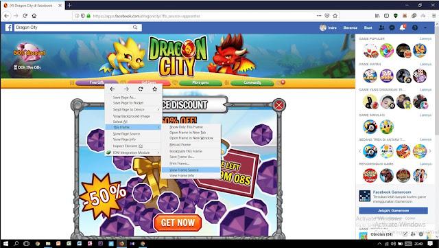 Cara Mencari Facebook ID, Session Id, dan External ID Dragon City
