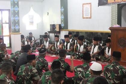 Prajurit Yonarmed 11 Kostrad Peringati Maulid Nabi Muhammad SAW 1440 H/2018 M