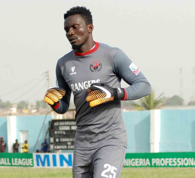 30-year-old keeper reveals no Ghanaian team can match my salary he earns at Enugu Rangers