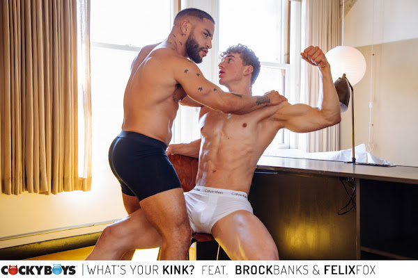 #Cockyboys - WHAT'S YOUR KINK?  starring Brock Banks & Felix Fox!