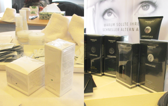 Beauty Press Blogger Event - Herbacin Hyaluronsäure Serum & Camouflage Pflege für den Mann
