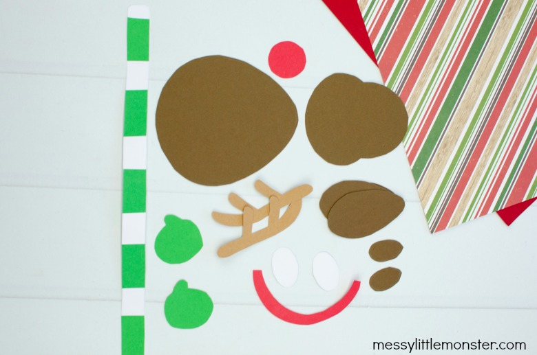 printable reindeer template craft