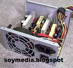 komponen komponen power supply komputer
