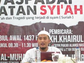 Ust. Badrul Tamam: Inti Ajaran Syiah adalah Kebencian dan Permusuhan