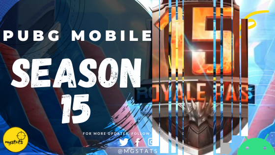 PUBG Mobile New Update : Season 15