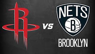 Houston Rockets vs Brooklyn Nets