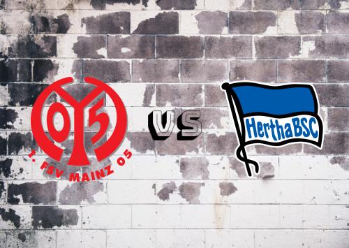 Mainz 05 vs Hertha BSC  Resumen