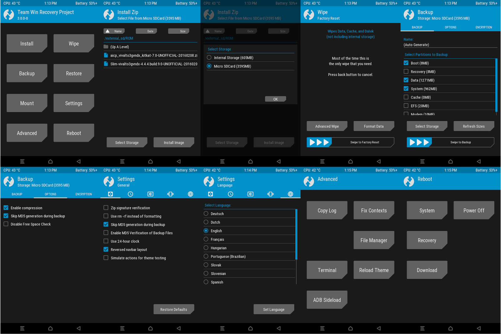 Recovery][TWRP] New TWRP Recovery 3 0 2 for MT6580 - GF4 Development
