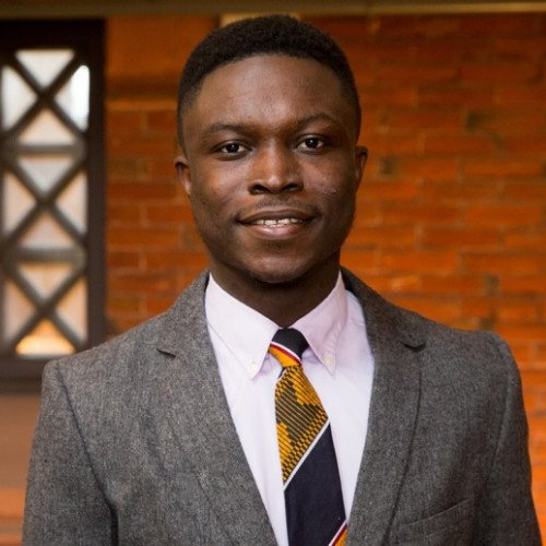 From selling gum to gaining global acclaim, Ghana's Shadrack Frimpong is now editor of Yale's prestigious