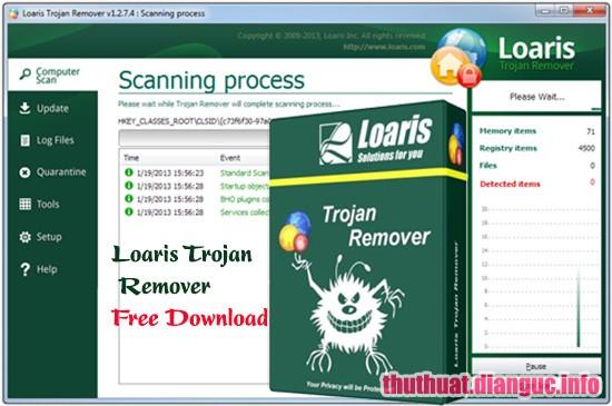 Download Loaris Trojan Remover 3.0.87.224 Full Crack, cách loại bỏ một Trojan hoặc phần mềm độc hại trongmáy tính, Loaris Trojan Remover,Loaris Trojan Remover free download, Loaris Trojan Remover full key