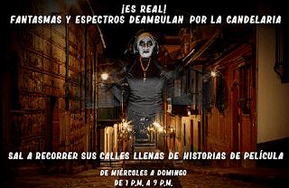 """Recorrido """"Los Fantasmas de La Candelaria"""" Bogotá"""