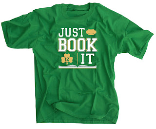 Just Book It Irish Green Shirt