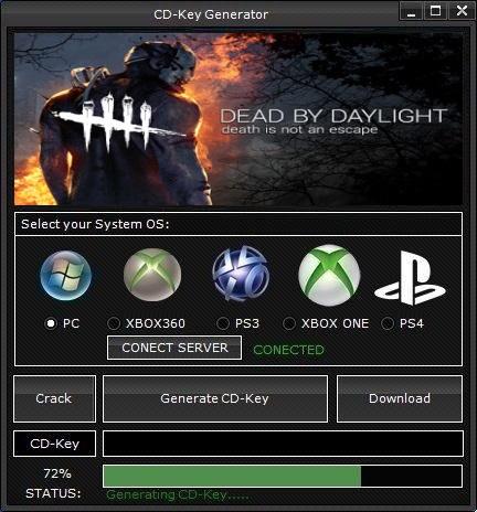 dead by daylight cd key free