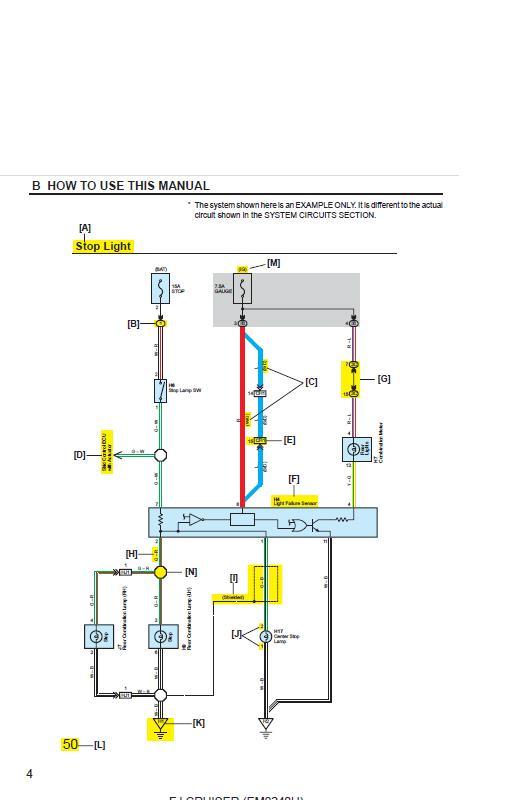 Wiring Diagram For Toyota Fj Cruiser Toyota landcruiser wiring