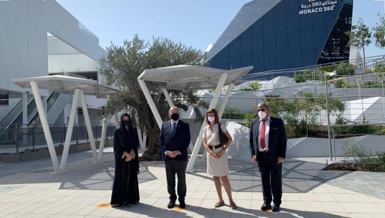 إنجاز الواجهة الخارجية لجناح موناكو في إكسبو 2020  دبي